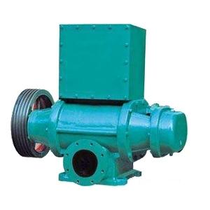 真空泵机总体结构型式