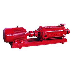 XBD-D型卧式w888必发多级消防泵